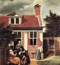 HOOCH Pieter de Village House