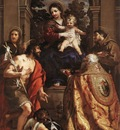 PIETRO DA CORTONA Madonna And Saints
