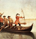 LONGHI Pietro Duck Hunters On The Lagoon