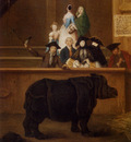 Longhi Pietro The Rhinoceros