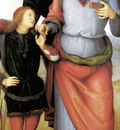 Perugino Archangel Raphael with Tobias