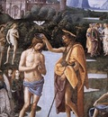 Perugino Pietro Baptism of Christ c1482 detail1