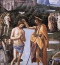 Perugino Pietro Baptism of Christ c1482 detail1