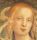 Perugino Pietro The Almighty with Prophets and Sybils 1500 detail1