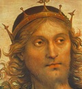Perugino Pietro The Almighty with Prophets and Sybils 1500 detail2