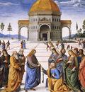 Perugino The Betrothal of the Virgin2