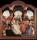MASSYS Quentin St Anne Altarpiece