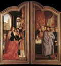 MASSYS Quentin St Anne Altarpiece closed