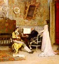 Garreta Raimundo de Madrazo y The Music Lesson