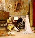 Garreta Raimundo de Madrazo y The Music Lesson