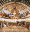 Raphael Disputation of the Holy Sacrament La Disputa