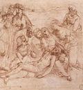 Raphael Lamentation over the Dead Christ