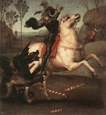 Raphael St George Fighting the Dragon