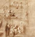 Raphael Study for the Disputa