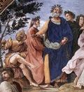 Raphael The Parnassus detail2