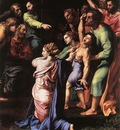 Raphael The Transfiguration detail3