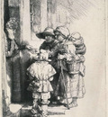 Beggars at a door SIL
