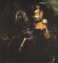 Rembrandt Frederick Rihel on Horseback