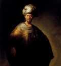 Rembrandt Man In Oriental Dress