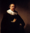 Rembrandt Portrait Of A Man