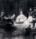 Rembrandt Samson Posing The Riddle At His Wedding Feast