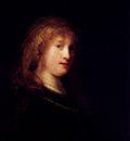 Rembrandt Saskia Wearing A Veil