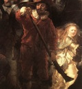 Rembrandt The Nightwatch detail2