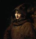 Rembrandt Titus van Rijn in a Monk s Habit