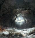 Haanen Remi van A Moonlit Winter Landscape