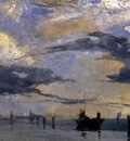 BONINGTON Richard Parkes On The Adriatic