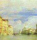 Bonington Richard Parkes Venice  The Grand Canal