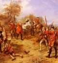 Hillingford Robert Alexander George II At The Battle Of Dettingen