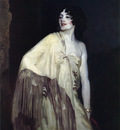Henri Robert Dancer in a Yellow Shawl