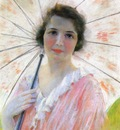 Reid Robert Lewis Lady with a Parasol