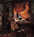 Ernst Rudolph A Moorish Interior