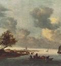 A Ferry Boat near Arnheim WGA