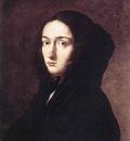 ROSA Salvator Portrait Of The Artists Wife Lucrezia