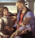 Madonna and child with a angel