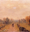 Gifford Sanford Robinson Carriage on a Country Road