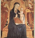 SASSETTA Virgin And Child Adored By Six Angels