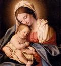 Salvi Giovanni Battista Madonna And Child