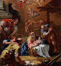 Ricci Sebastiano Adoration Of The Shepherds