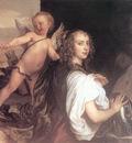 Portrait of a Girl as Erminia Accompanied by Cupid CGF