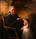 Raeburn Sir Henry John Tait and His Grandson