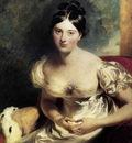 LAWRENCE Sir Thomas Margaret Countess Of Blessington