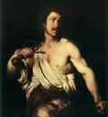 STROZZI Bernardo David With The Head Of Goliath