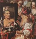 STROZZI Bernardo Old Woman At The Mirror