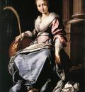 STROZZI Bernardo St Cecilia