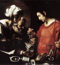 STROZZI Bernardo The Charity Of St Lawrence