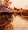 Thaulow Frits A Morning River Scene